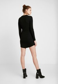 Even&Odd - BASIC - Jersey dress - black - 3