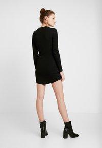 Even&Odd - BASIC - Vestido ligero - black - 3