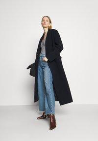 Anna Field - Long sleeved top - dark blue/white - 1