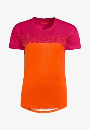 MOAB VI - Print T-shirt - orange