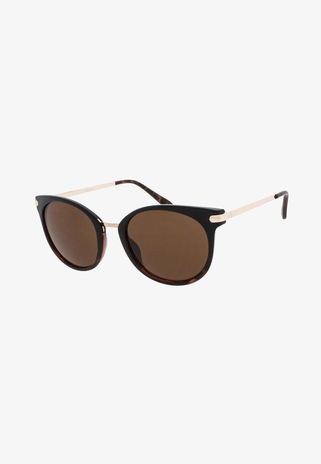 VERA - Sunglasses - black/tortoise
