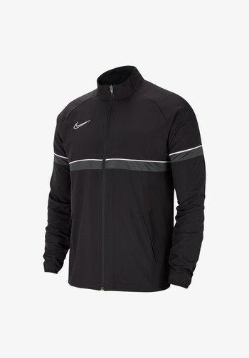 FUSSBALL ACADEMY - Training jacket - schwarzweissgrau