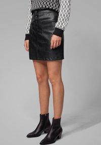 BOSS - BISARA - A-line skirt - black - 0
