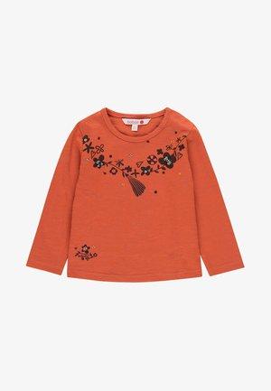 Bluzka z długim rękawem - orange