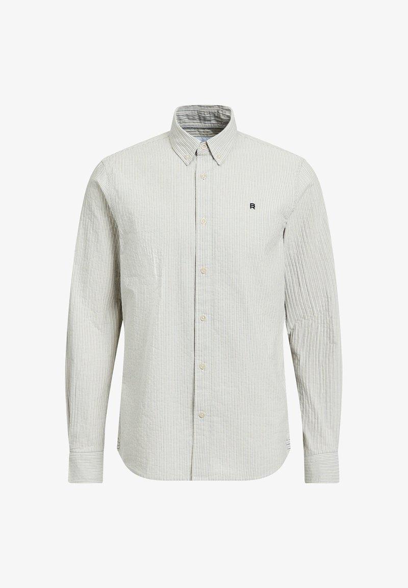 WE Fashion - SLIM FIT  - Camicia - off-white