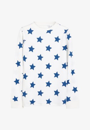BLUE STAR PRINTED SNUGGLE THERMAL SET (1.5-16YRS) - Pyjama set - white