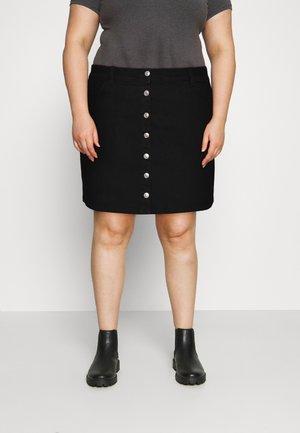 PCPAIGE SKIRT - Mini skirt - black