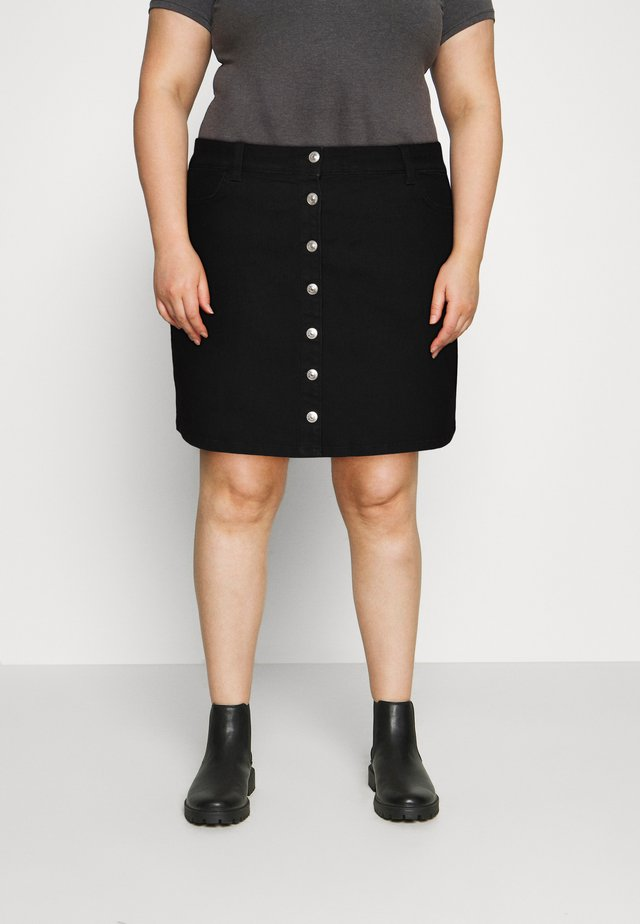 PCPAIGE SKIRT - Mini skirts  - black