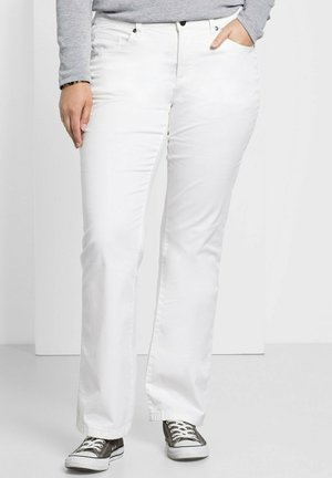 Bootcut jeans - weiß