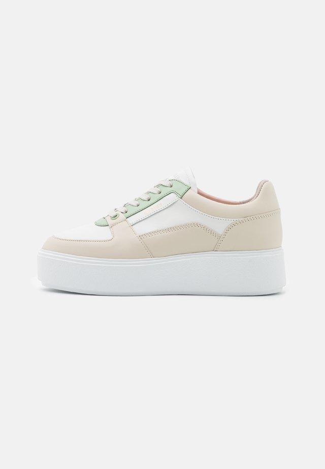ELISE BLOOM - Sneakers - white/green