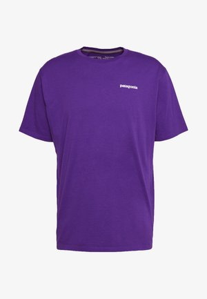 LOGO - T-shirt z nadrukiem - purple