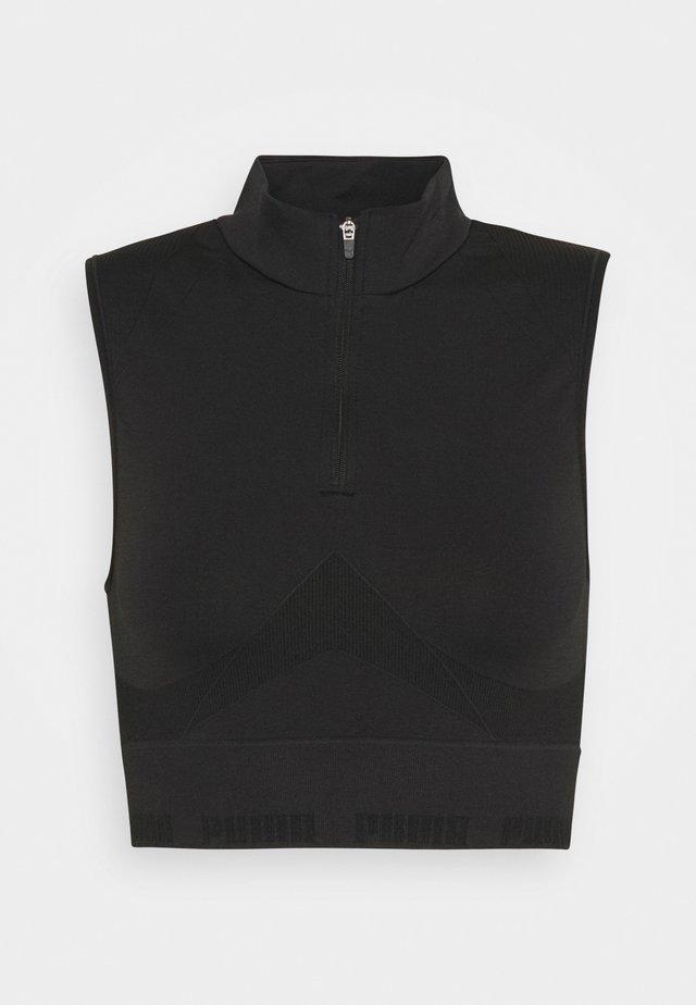 EVOSTRIPE EVOKNIT CROP - Top - black