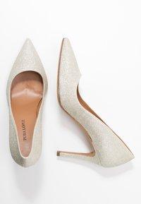 Pura Lopez - High heels - glitter platin - 3