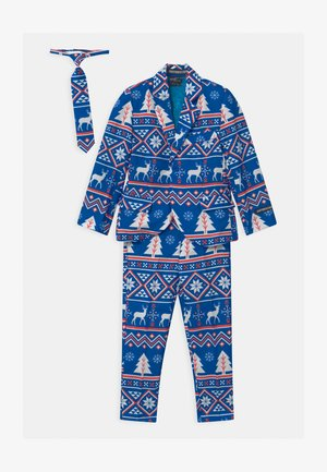 BOYS CHRISTMAS NORDIC SET - Kostuum - blue