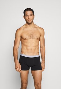Pier One - 5PACK - Underkläder - black/mottled grey - 2