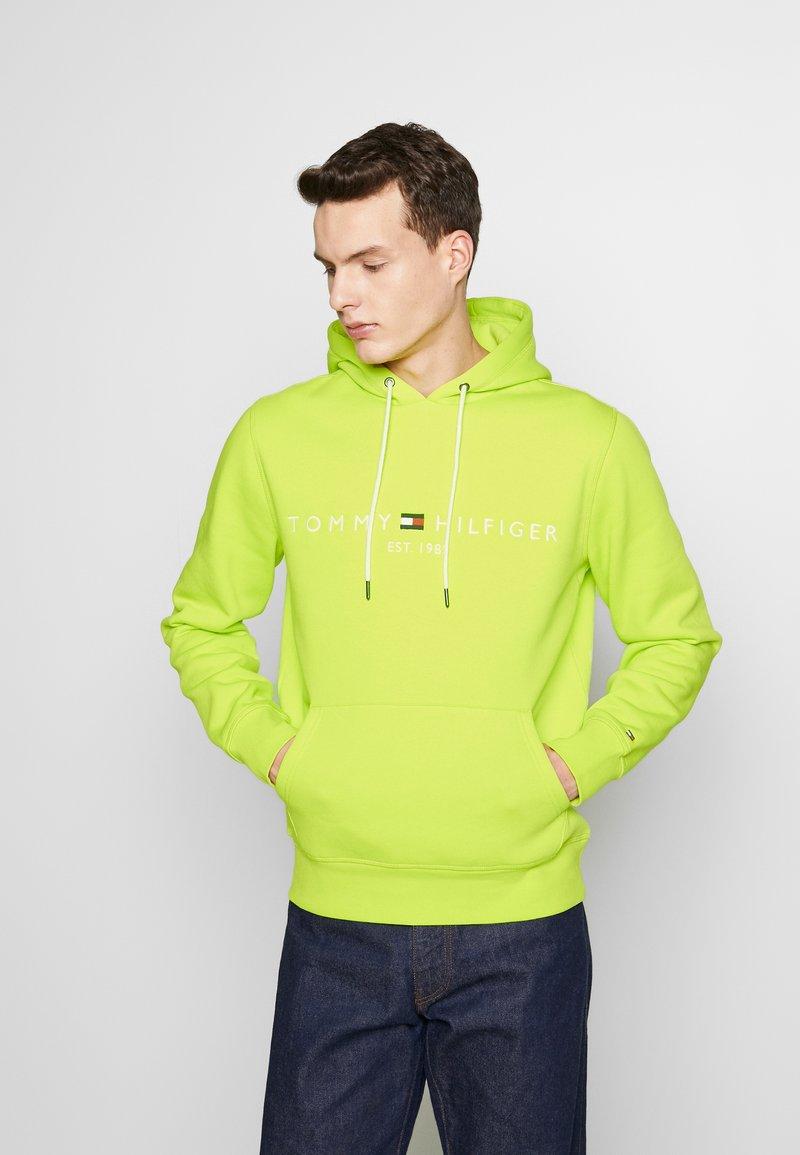 Tommy Hilfiger - LOGO HOODY - Bluza z kapturem - green