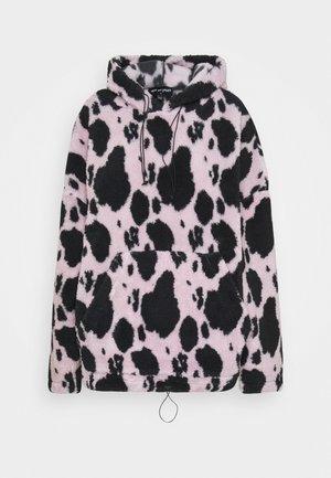 COW HOODIE - Felpa con cappuccio - lilac