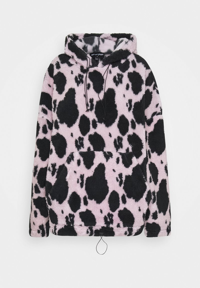 NEW girl ORDER - COW HOODIE - Sweat à capuche - lilac