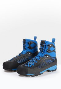 Mammut - TAISS TOUR MID GTX® MEN - Mountain shoes - black-dark gentian - 3