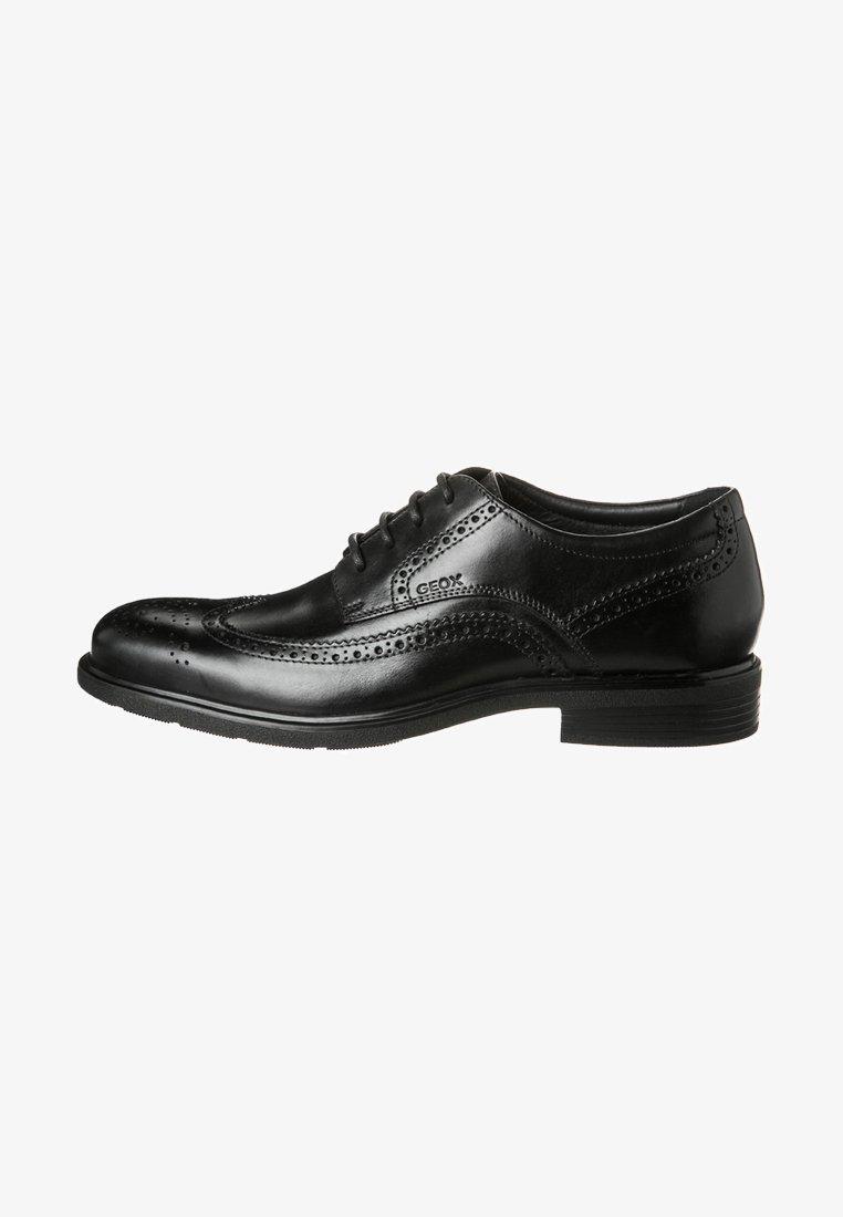 Geox - DUBLIN - Zapatos con cordones - schwarz