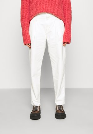 PEARL - Relaxed fit jeans - creme