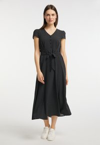 usha - Shirt dress - schwarz - 1