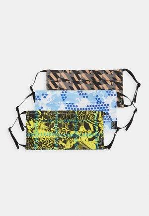 3 PACK - Stoffen mondkapje - multicoloured