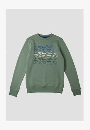 ALL YEAR CREW - Sweater - agave green