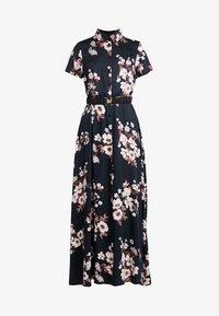 Vero Moda - VMROMA BELT ANCLE DRESS - Maxi dress - black - 5