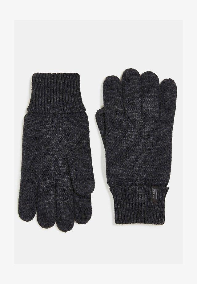 MIT THINSULATE™-FÜLLUNG - Gloves - dark grey