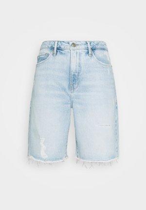 BERMUDA - Jeansshorts - blue