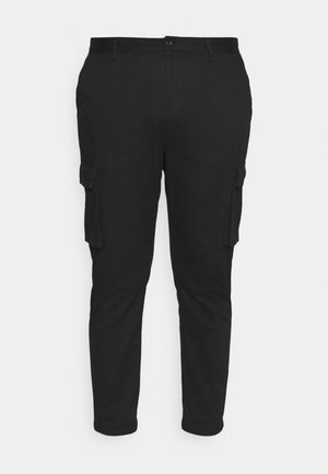 CALLEN TAPERED CARGO PANT - Kalhoty - black