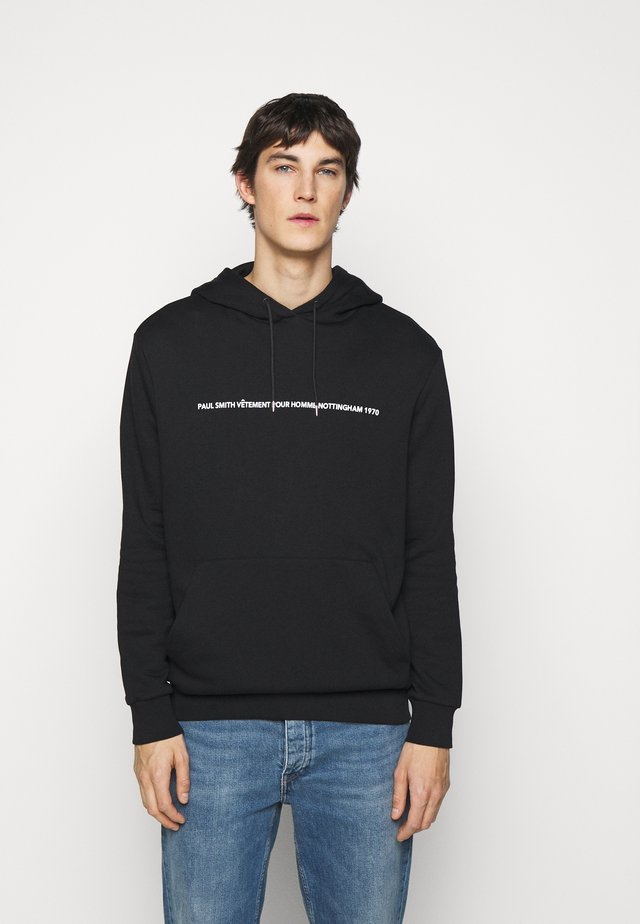 GENTS PAULS FIRST SHOP PRINT HOODY - Hoodie - black