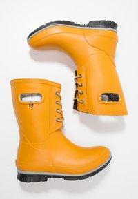 Bogs - AMANDA PLUSH - Regenlaarzen - mustard - 1