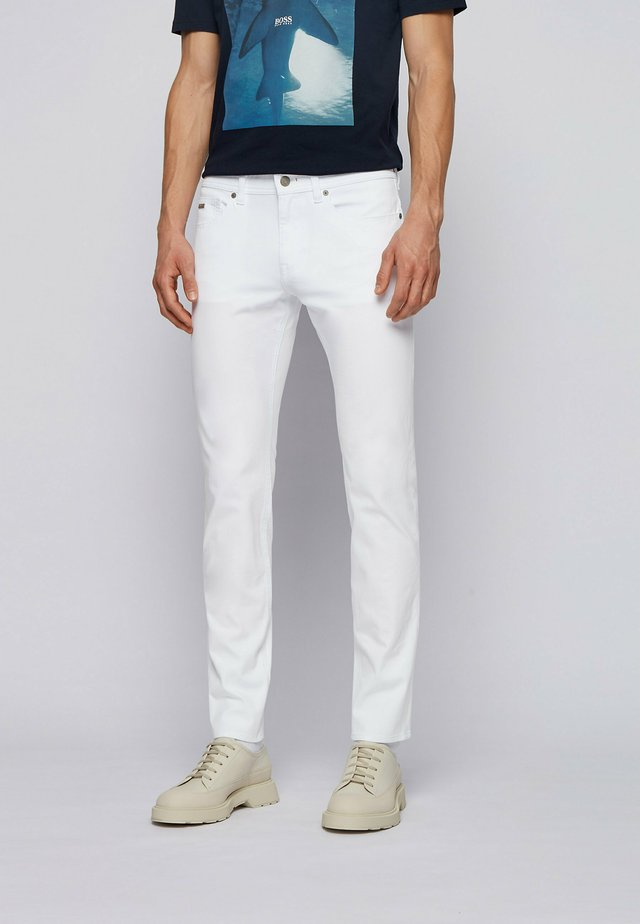 DELAWARE - Jeans slim fit - white