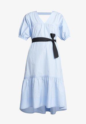 MIDI FLARE DRESS - Day dress - oxford blue
