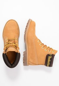 Timberland - 6IN PREMIUM BOOT  - Lace-up ankle boots - wheat - 3