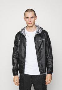 Emporio Armani - BLOUSON JACKET - Waterproof jacket - grey - 3