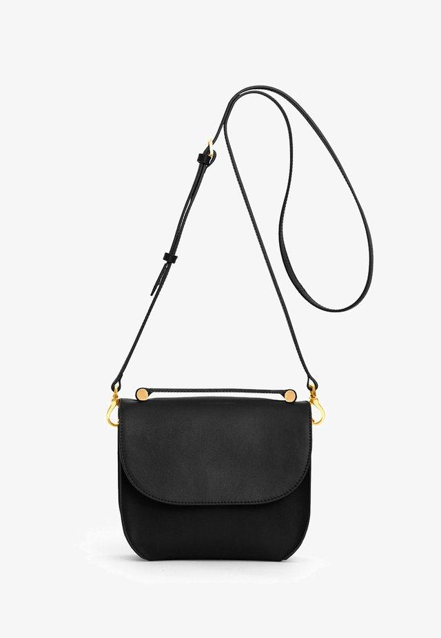 CALLA - Handbag - midnight black/ gold