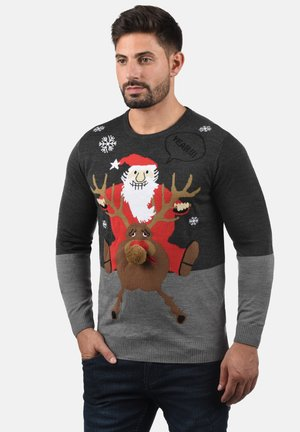 RUDOLPH - Jumper - charcoal/s