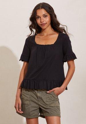Basic T-shirt - almost black