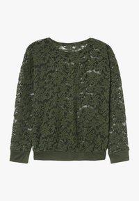 Rosemunde - T-SHIRT LS - Langærmede T-shirts - black green - 1