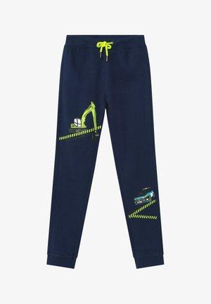KIDS POLICE CAR DIGGER - Pantaloni sportivi - blau