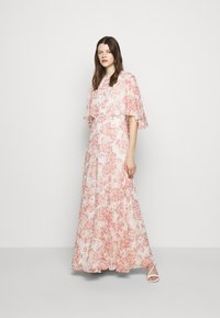 Lauren Ralph Lauren - PRINTED CRINKLE LONG - Occasion wear - colonial cream/pink - 1