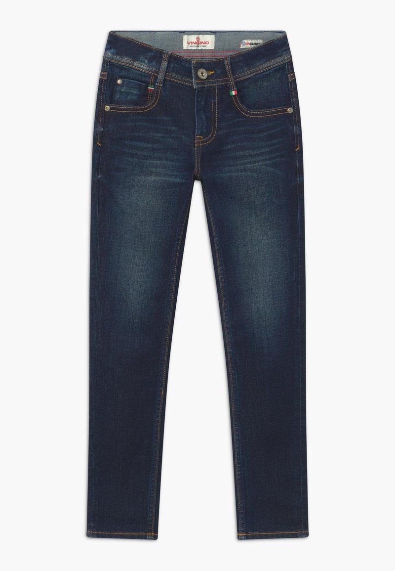 Vingino - ANZIO RINSE - Jeans Skinny Fit - dark-blue denim