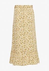 Monki - MARY LOU SKIRT - Áčková sukně - yellow medium - 1
