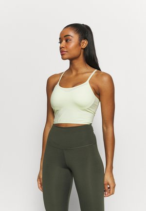 STRIKE A POSE YOGA VESTLETTE - Light support sports bra - lemonade