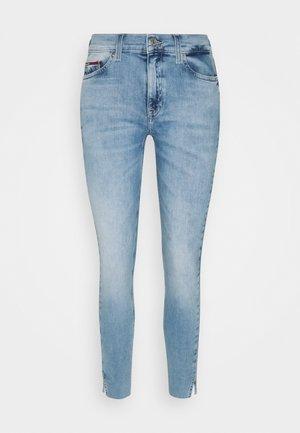 NORA - Skinny džíny - denim light