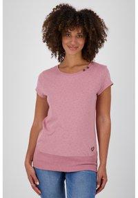 alife & kickin - Print T-shirt - lavender - 0