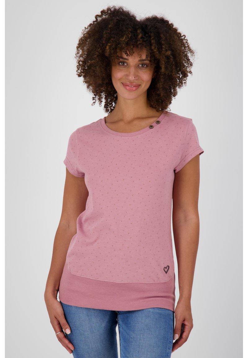 alife & kickin - Print T-shirt - lavender